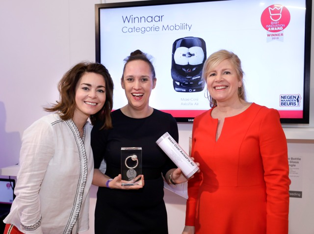 Winnaar Maxi Cosi baby innovation award